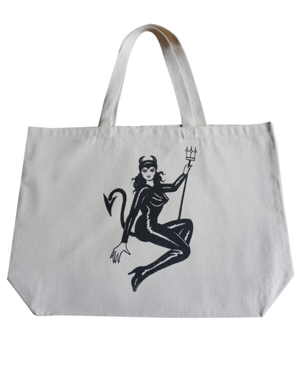 Mary Joy Devil Tote Bag