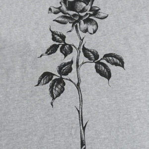 Tank Top Long Stem Rose Artwork