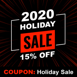 2020 Holiday 15% OFF Sale